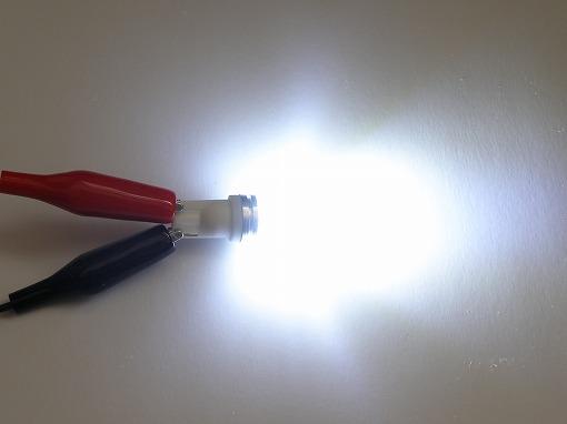 発光写真(T10(9.5d)ホワイト)