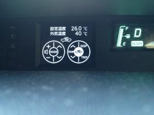アクア 気温計 40度