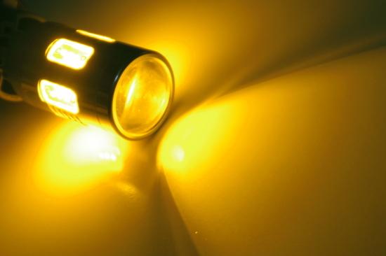 LEDバルブ スーパーショートT20 イエローアンバー