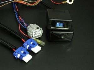 ハリアーAVU65W LEDハイビームポジション