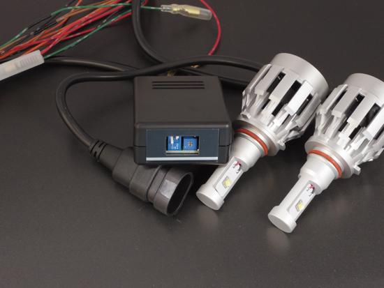LED ハイビームポジション